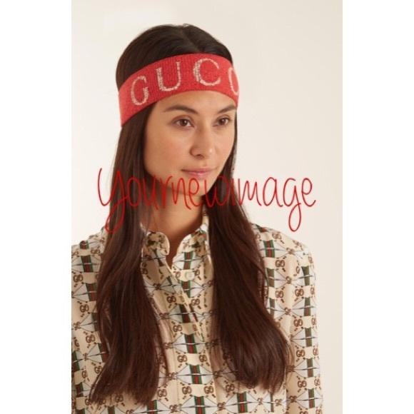 Accessories - Red Gucci headband daa9cbde274